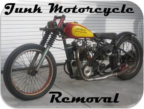 Junk Motorcycle Removal