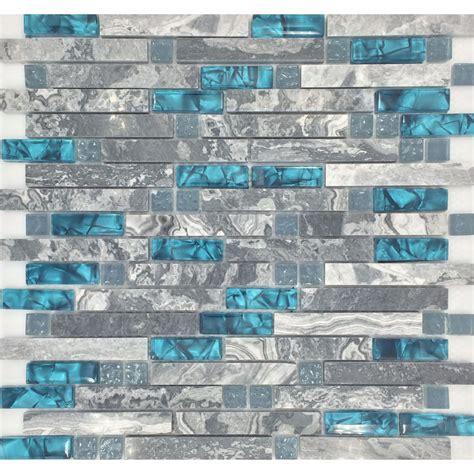 hexagon mosaic tile backsplash gray marble backsplash tiles teal blue glass mosaic wall tile