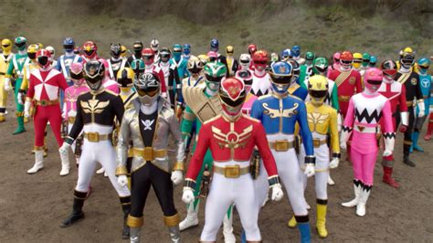 Random Thoughts: Favorites - Top Ten Power Ranger Team-ups