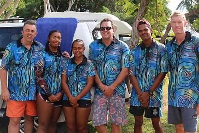 Pilbara Indigenous Lifeguards Young Argyle Lake Swim