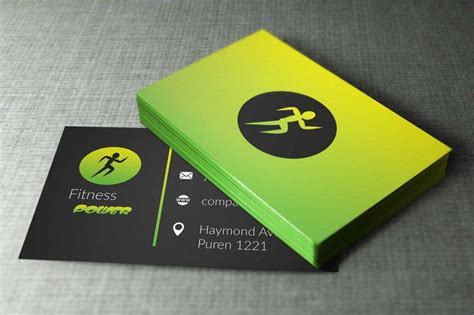Here at origym, we know how it feels to be starting out as a personal trainer, as well as how difficult it can be to find new ways to expand your. Fitness Business Cards Design   Fitness business card ...