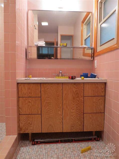 mid century modern sink vanity 28 best mid century vanities images on pinterest