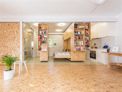 moving walls transform  tiny apartment    room home