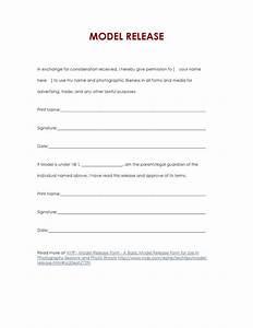 Basic Model Release Form by In Progress issuu