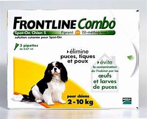 Puce De Chien : frontline combo petit chien 2 10kg 3pip anti puce ~ Melissatoandfro.com Idées de Décoration