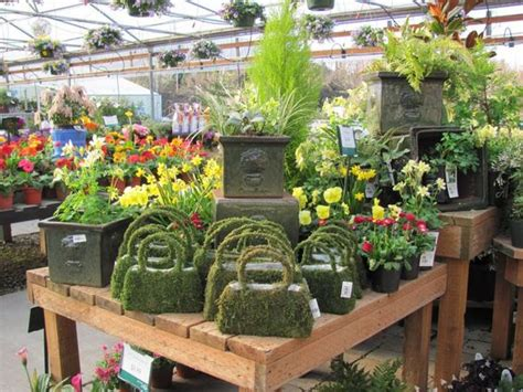 garden center displays display ideas and display on