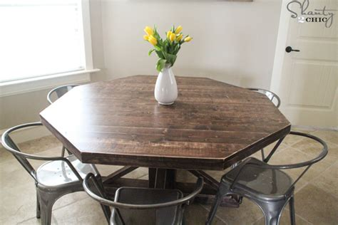 diy round dining table diy round wooden table for 110 shanty 2 chic