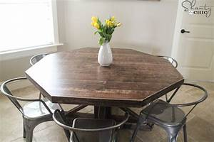 DIY Round Wooden Table for $110! - Shanty 2 Chic