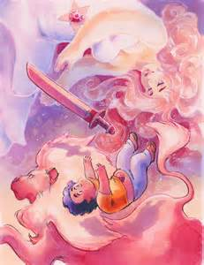 Steven Universe Rose Quartz print from Art by FATE