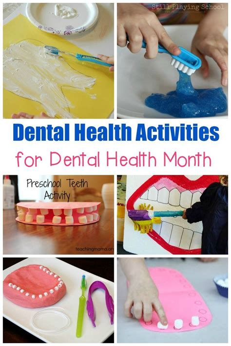 15 exciting dental health activities for teaching 552   778683a59a53b5ae3e32a8b4e2b00842