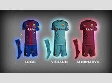 Fts15Kits Barcelona 20172018 Posibles Uniformes