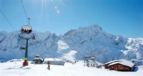 passo tonale ski trips  schools  groups