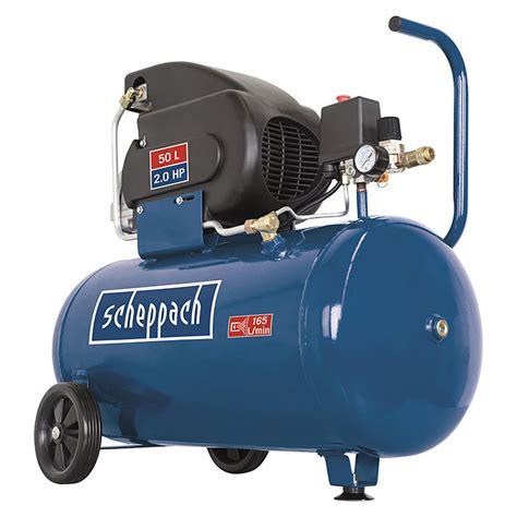 scheppach kompressor hc 60 10 bar 1 5 kw 50 l 2331 kompressoren