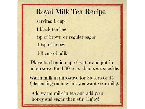 And as per global estimation, tea is the second most common beverage, the first being water. My Coffee Shop #1 : Royal Milk Tea Recipe | DiamondSweetCrystals