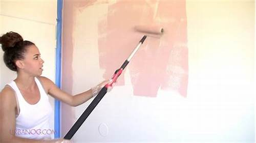 The Walls Are Painted In Black #How #To #Paint #A #Room #Paint #A #Wall #In #4 #Simple #Steps