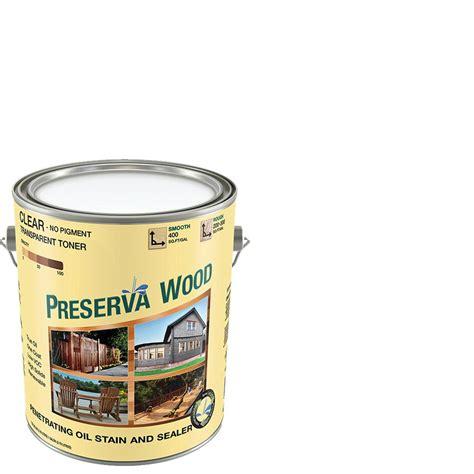 preserva wood  gal oil based clear penetrating exterior