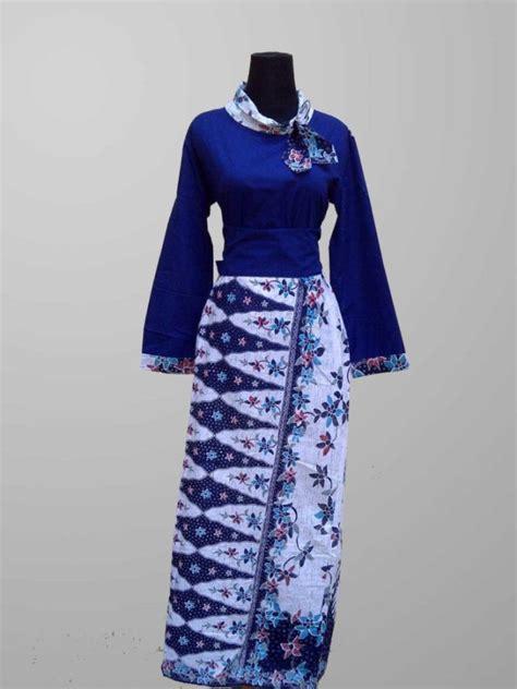 model baju batik kombinasi terbaru  desain