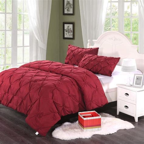 pinch pleat comforter pinch pleat comforter set ease bedding with style
