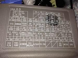 1997 Nissan Altima Fuse Box