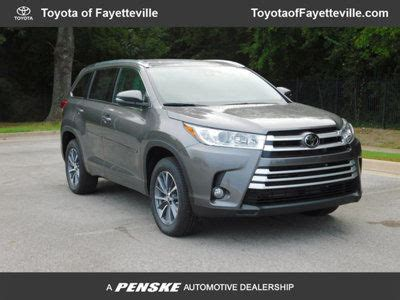 Toyota Fayetteville Ar by New Toyota Highlander At Toyota Of Fayetteville Serving