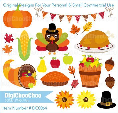 Items Similar To Thanksgiving Turkey Pumpkin Pie Food Clip