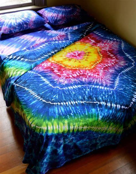 dyed sheet set size tie dye bedding sheet