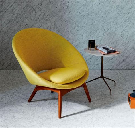 midcentury style chair at west elm