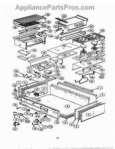 Parts For Thermador Pcs484gg  Burner Box Parts