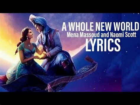 Mena Massoud and Naomi Scott A Whole New World (End