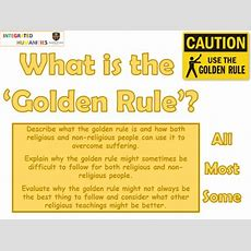 What Is The Golden Rule And How Can It Be Used To Overcome Suffering? By Nslater88 Teaching