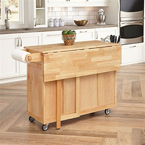 kitchen island cherry wood home styles 5023 95 wood top kitchen cart with breakfast 5023