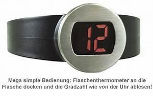 Digitales Info Display Seat : digitales flaschenthermometer weinthermometer mit display ~ Kayakingforconservation.com Haus und Dekorationen