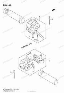 Suzuki Motorcycle 2007 Oem Parts Diagram For Handle Switch