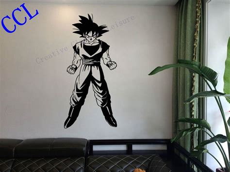 free shipping dragon ball z goku anime manga decor wall