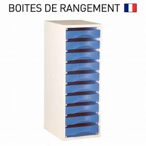 Range Document Bureau : meuble bois blanc pour boites de rangement starbox plateau ref mplsb ~ Teatrodelosmanantiales.com Idées de Décoration