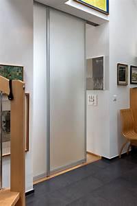 Schiebetüren Nach Mass : trennwand aus zwei schiebet ren komplett in die wand ~ Michelbontemps.com Haus und Dekorationen