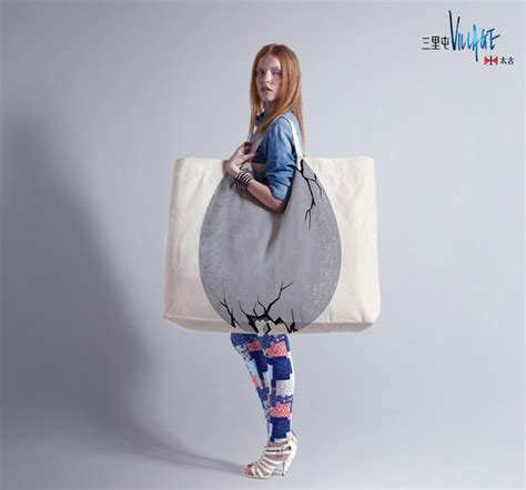 shopping bag design showcase of clever and creative shopping bag designs