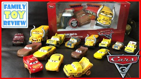 Demolition Derby Cars Toys by Disney Cars 3 Toys Demolition Derby Miss Fritter Chester