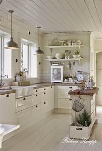 les 25 meilleures idees de la categorie cuisine vintage With kitchen colors with white cabinets with papier peint a peindre