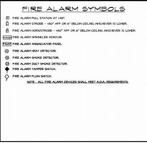 Fire Alarm Symbols Wiring Diagrams And Symbols Electrical