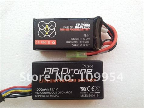 mah  parrot ar drone spare upgrade battery  rcstyle  dhgatecom