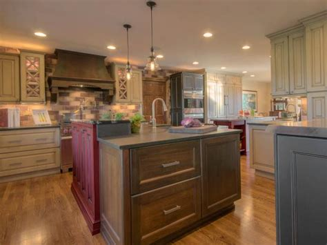 two coloured kitchen cabinets photo page hgtv 6425