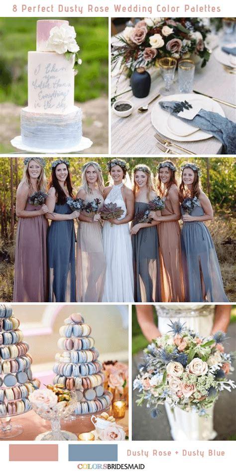 All 50+ Fall Wedding Color Palettes Vintage wedding