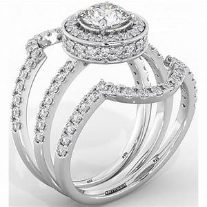 3 piece wedding ring sets cheap wedding ring ideas for Cheap bridal wedding ring sets