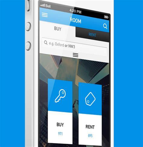 best room layout app use of flat design in mobile app interfaces best exles designmodo