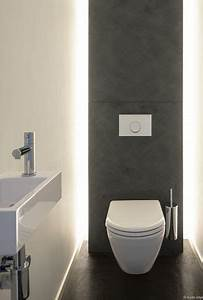 best 25 toilet design ideas on pinterest modern toilet With carrelage adhesif salle de bain avec led wall lamp