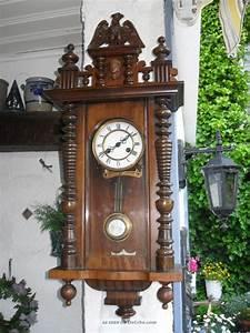 Wanduhr Mit Bildern : sehr sch ne antike f m s gr nderzeit wanduhr mit schlagwerk schwarzwald um1915 ~ Watch28wear.com Haus und Dekorationen