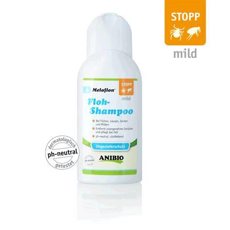 melaflon floh shampoo anibio tierbedarf