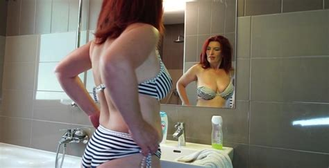 Horny Redhead Housewife Getting Herself Off Porno