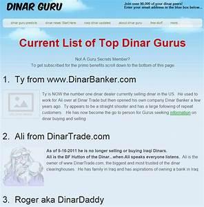 Dinar Guru Predictions   Autos Post